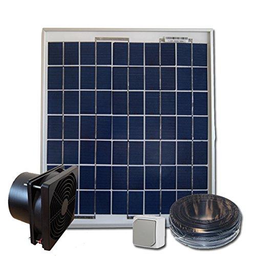 Sellande Kit de Ventilation Solaire 5W...