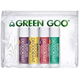 Sierra Sage Green Goo 100% All Natural Deodorant Travel Pack