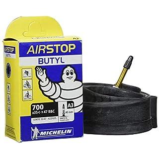 Michelin 91111 Airstop 35 Butyl PV Tube, Black, 40 mm