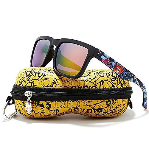 5d423e3607 24 JOYAS Gafas de Sol Surf Cool Polarizadas con Funda y Gamuza para Mujer y  Hombre