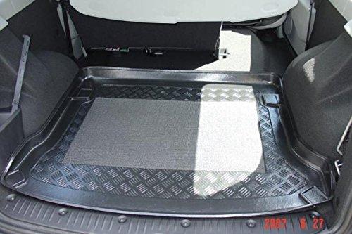 Kofferraumwanne mit Anti-Rutsch passend für Dacia Logan MCV Combi 5-tr. 5-Sitzer / 7-Sitzer 3. Reihe rausgenommen 2007-