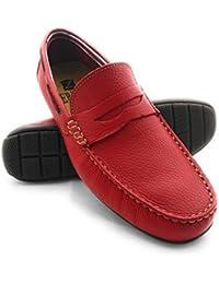Zerimar Herren Halbschuhe Herren Leder Schuhe Herren Leder Casual Schuh  Täglicher Gebrauch Schöne Leder Sportlich Schuh für Den… d6cd782ca7