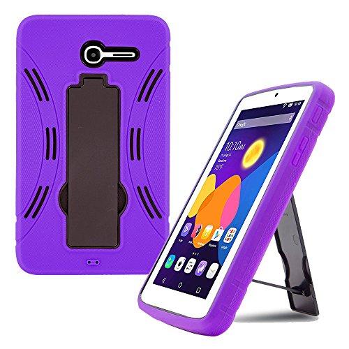 Alcatel-One Touch Pop 7LTE-9015W-Hybrid Fall, Violett - Alcatel Pop Touch One Fall