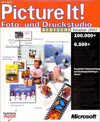 Microsoft Picture it 2001 - Foto-/Druckstudio (Bundle)