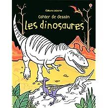 Les dinosaures - Cahier de dessin