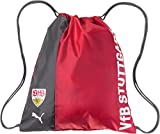 PUMA VfB Stuttgart Fanwear Gym Sack Turnbeutel, Ribbon Red White, One Size