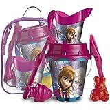 Frozen - Mochila cubo castillo, juguete para playa (Mondo Toys 28261)