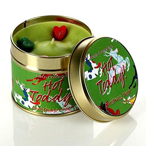 Bomb Cosmetics Dosenkerze Hot Toddy Weihnachtskerze Candle Kerze - Duft: Whiskey & Honig