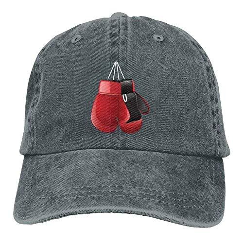 WYICPLO Fashion Baseball Caps Hats Funny Bag Boxing Gloves Denim Hat Adjustable Unisex Casual Baseball Hat