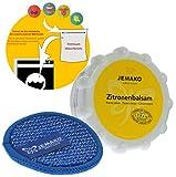Jemako Zitronenbalsam 350g Duopad blau mini Ø 9,5 & Sinland feinmaschiges Wäschenetz