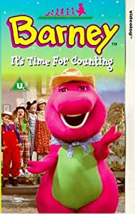 Barney It 39 S Time For Counting Vhs Barney Video