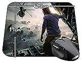 Guerra Mundial Z World War Z Brad Pitt A Tapis De Souris Mousepad PC