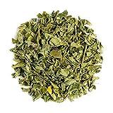 Moringa Oleifera Kräutertee Biologischem Anbau - hervorragend in Salaten oder Suppen - Bio Loseblatttee des Meerrettichbaums - auch Organische Trommelstockbaum 100g