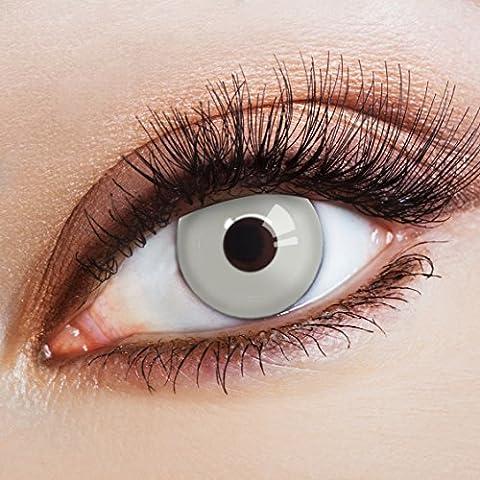 aricona Farblinsen Farbige Kontaktlinse The Grey – Deckende Jahreslinsen für