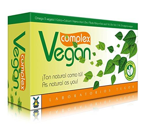 Tegor Vegan Complex Suplimento - 60 Cápsulas