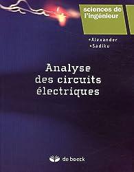 Analyse des circuits électriques