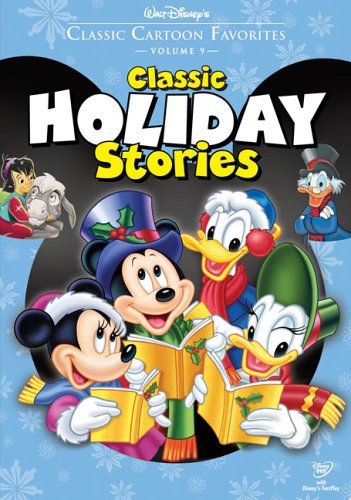 Click for larger image of Classic Cartoon Favorites, Vol. 9: Classic Holiday Stories - The Small One/Pluto's Christmas Tree/Mickey's Christmas Carol [DVD] [Region 1] [US Import] [NTSC]