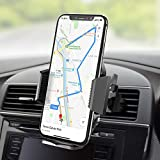 Beikell Soporte Móvil Coche, 360 Grados Rotación Soporte Móvil Teléfono Coche Magnético para Rejillas del Aire Soporte para iPhone X/8/7, Huawei P9, Samsung Galaxy S8/ S7 Plus, GPS, MP3 Player y Más