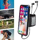 WANPOOL Brassard Sport pour iPhone X (10) (Noir) - Brassard Ouvert/Bracelet Support, avec Bande Standard pour Bras Entre 28 et 51 cm et Extra Small pour Bras Entre 17,8 et 30,5 cm