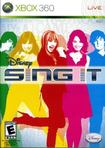 Sing It - Xbox 360 by Disney Interactive Studios (Disney Sing It Für Xbox)