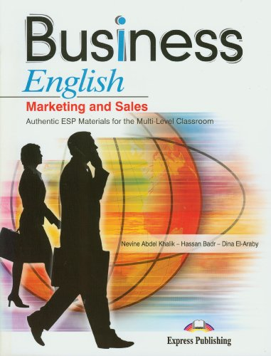 Business English Marketing and Sales materials for the Multi-Level Classroom