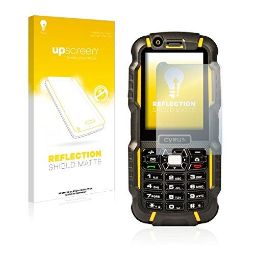 upscreen Reflection Shield Matte Bildschirmschutz Schutzfolie für Cyrus CM 15 (matt - entspiegelt, hoher Kratzschutz)