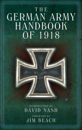 German Army Handbook: April 1918