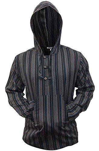 shopoholic-moda-multicolor-dharke-raya-abuelo-sudadera-con-capucha-camisa-ligero-negro-mezcla-xxxx-l