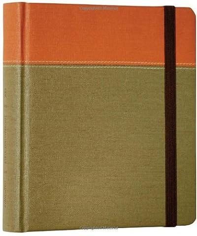 ESV Journaling Bible (Tuscan Series, Terra-Cotta/Sage) by