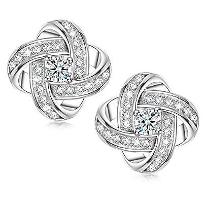 Sirila - Satellite Series - 925 Sterling Silver Women Piecered Earrings Allergen-free