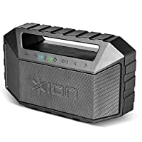 ION Audio Plunge 20 W Ultra-Portable IPX7 Waterproof Bluetooth Speaker with Dual Full-Range Drivers, Bluetooth Track Controls, Rechargeable Battery and Built-In Mic for Hands-Free Calls, Black