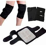 Flyngo Set OF 2 Knee Hot Belt For Leg Pain Self Heating Magnetic Knee Strap Knee Cap/Support For Pain Relief Knee...