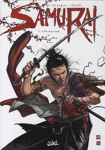 Samurai, Tome 5 : L'Ile sans nom