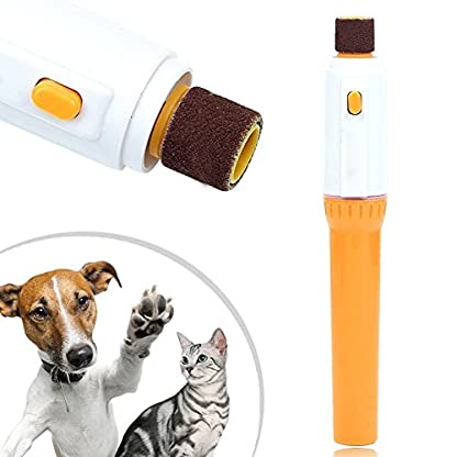 Pet Dog Cat Nail Grooming, Grinder, Trimmer, Clipper, Electric Nail File Kit 1