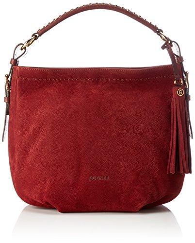 Bogner Damen Baby Aisha Henkeltasche, Rot (Carmine), 20x24x35 cm