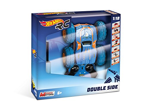 Mondo - Hot Wheels Doble Side teledirigido (Escala 1/18