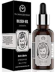 The Man Company Beard Growth Oil with Almond & Thyme for Beard Growth -30ml