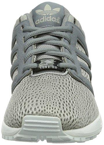 adidas Originals ZX FLUX 20 Textile UnisexErwachsene Sneakers Grau  Onix/Onix/Tech Grau F12