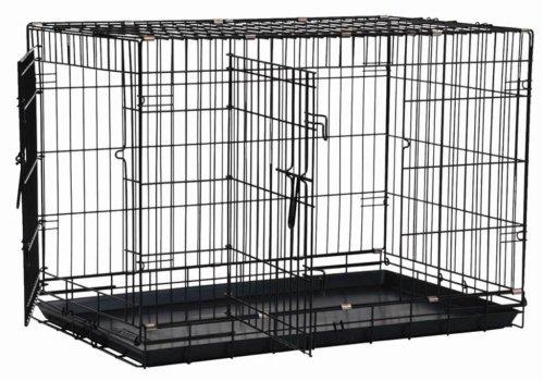 Artikelbild: Precision Pet two-door Tolles Hundekäfig, schwarz