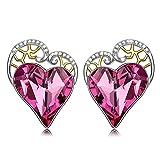 PAULINE&MORGEN El amor viene Pendientes para Mujer fabricados con cristales SWAROVSKI