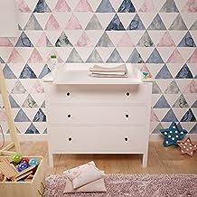 Polini Kids cambiador ufsatz cambiador accesorio para cómoda hemnes IKEA Color Blanco