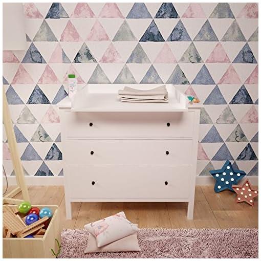Cassettiera Malm Ikea Istruzioni Montaggio.Polini Bambini Fasciatoio Per Como Hemnes Ikea In Bianco 1412 9