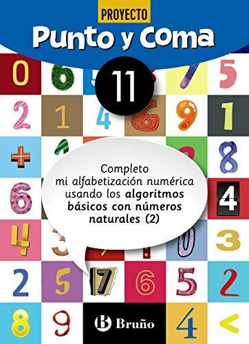 Punto y Coma Matemáticas 11 Completo mi alfabetización numérica usando los algoritmos básicos con números naturales (2) (Castellano - Material Complementario - Cuadernos De Matemáticas)