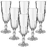 12er Set Libbey Hochwertige Sektgläser Champagnergläser aus Glas - max.