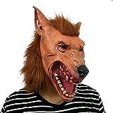 ?Quién lobo con una máscara para el cabello? Perfecto para el carnaval, el carnaval y...
