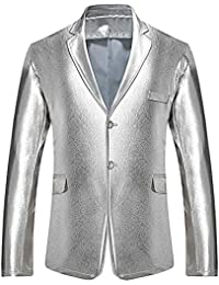 d7a485ff0522f Amazon.in  Silvers - Suits   Blazers   Men  Clothing   Accessories