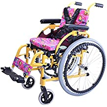 BLWX-Silla de ruedas para niños - Silla de Ruedas Manual para niños discapacitados Ligeros