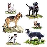 Ambiente Papierservietten - Servietten Lunch / Party / ca. 33x33cm Dogs - Hunde - Ideal Als Geschenk Und Tisch-Deko