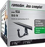 Rameder Attelage rotule démontable pour KIA Rio IV + Faisceau 7 Broches...