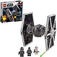LEGO 75300 Star Wars Imperial TIE Fighter Spielzeug mit Sturmtruppler und Piloten als Minifiguren aus der Skyw